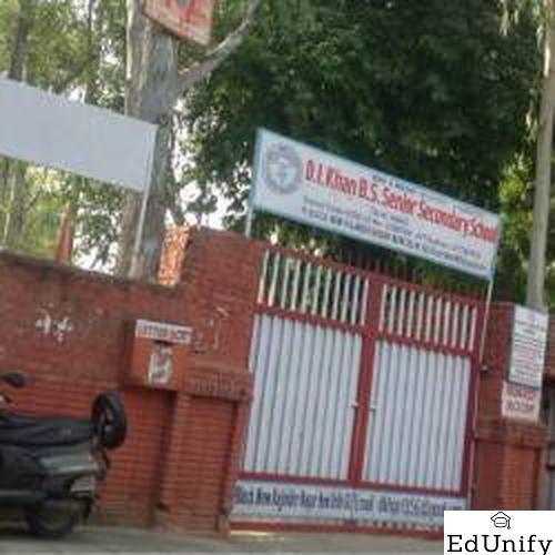 Di Khan Bharti Senior Secondary School, New Delhi - Uniform Application