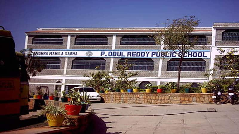 P. Obul Reddy Public School Admission 2020-2021
