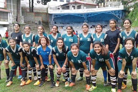 Team of Soccer, Mussoorie International School